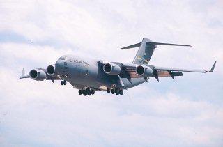 C-17 at landing